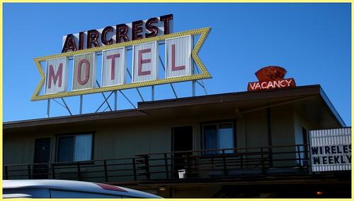 Aircrest Motel, Pt. Angeles, Washington.