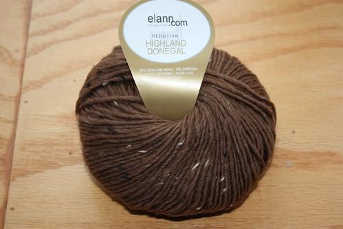 Peruvian Highland Donegal wool in #1162 hazelnut