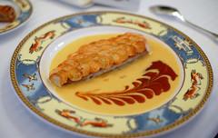 3rd Course: Rouget Barbet en Ecailles de Pommes de Terre Crousti