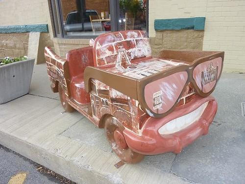 IL, Pontiac 64 - Eyeglass car