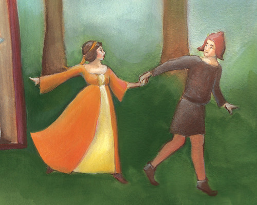 Renaissance Fair Poster sneak peek.