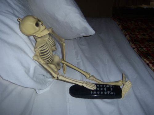 Chilling With The Remote