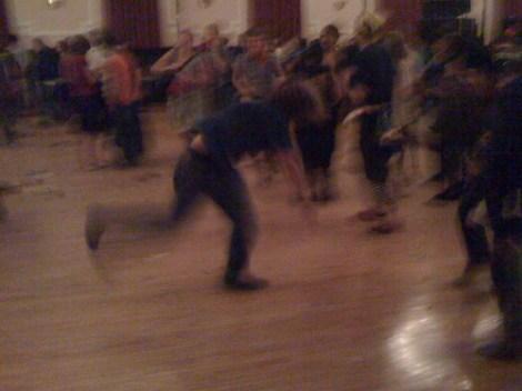 Breakdancer after Man Man @ Logan Square Auditorium