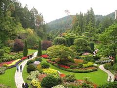 Butchart Gardens, Vancouver Island