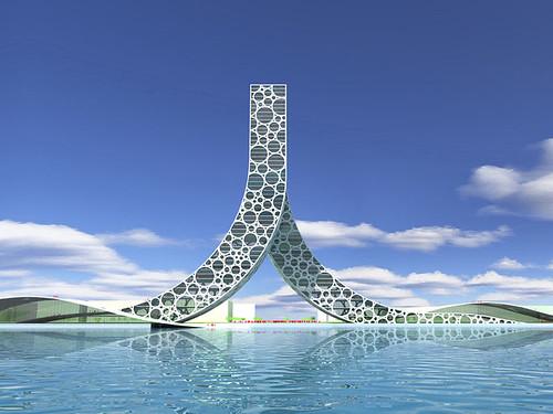 上海的 [人] �型建築-1