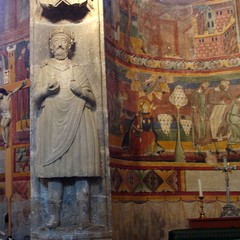 Karl der Grosse, Statue 11. Jhdt.