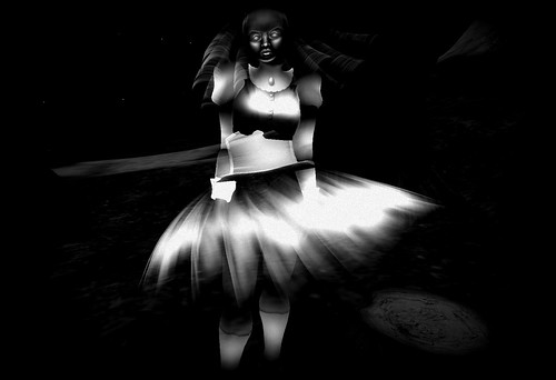 Ghostly Avatar 3 - Black and White