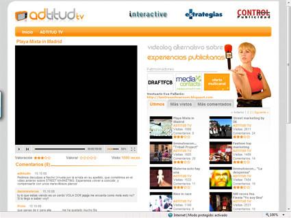 Adtitudtv, un videoblog sobre experiencias publicitarias