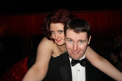 Anthony McG and Lottie at Burlesque