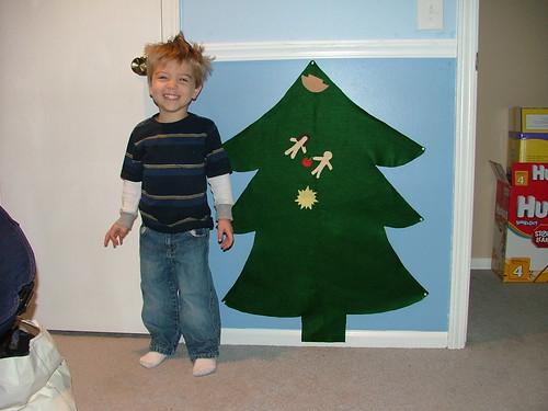 Beckham and Advent Tree