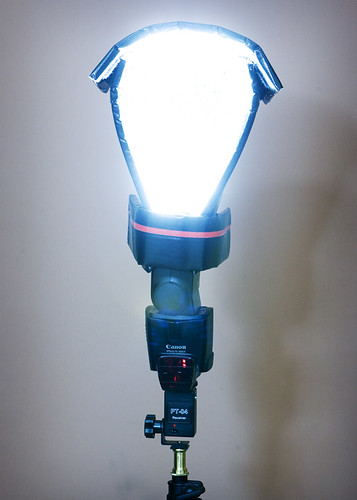Diffuser on speedlite