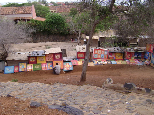 Paintings at Goree Island