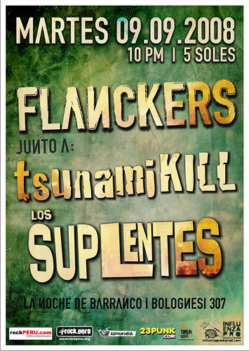 Afiche Flankers