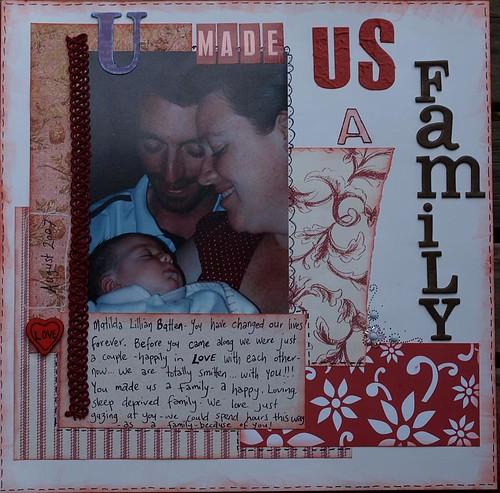 'U made us a family' LO