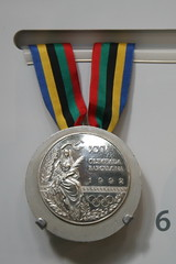 1992 Barcelona Olympic Games, Silver Medal, Sh...