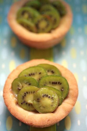 Kiwi Lemon Tarts