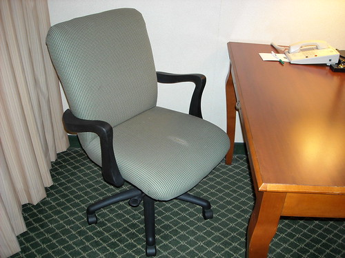 Courtyard Marriott, Louisville Airport, KY Desk Chair