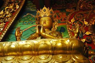 Avalokiteśvara, Chenrayzee or Chenrezig statue...