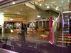 BBC Birmingham in The Mail Box - public space,...