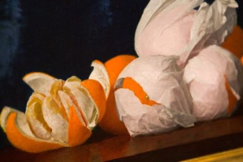 Oranges in Tissue Paper by William Joseph McCloskey (by Phanix)