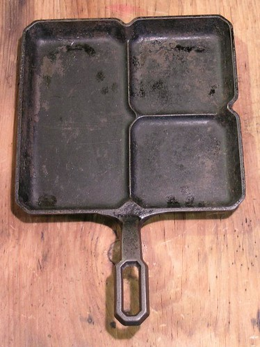 RARE Griswold #666 Colonial Breakfast Skillet ca. 1940