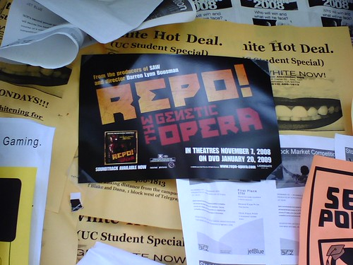 Repo Promoting in Downtown Berkeley