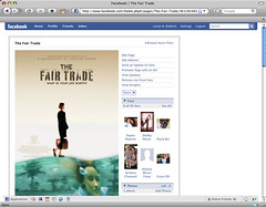 The Fair Trade movie on Facebook screenshot