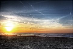Sunset @ Scheveningen (HDR)