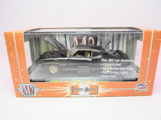 m2 detroit muscle 1969 pontiac gto judge prototype chase (1)
