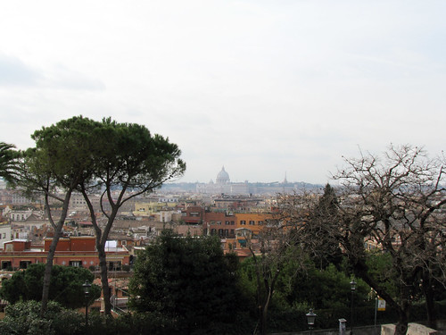 View from Villa Borghese - 2