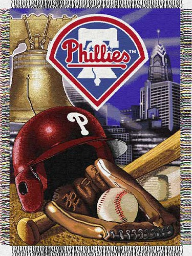 philadelphia phillies home field blanket by familybedding.com.