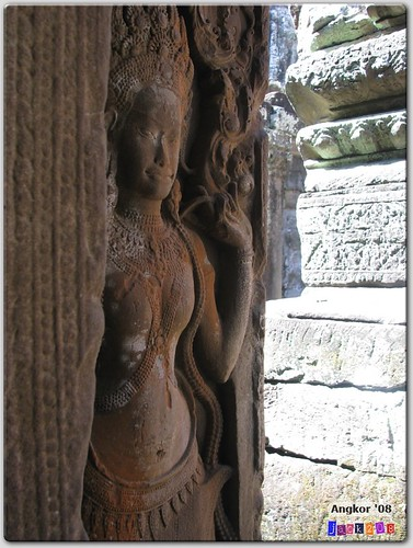 Apsara dancer in the Bayon