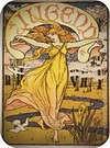 Walter Crane. Titelbild der Zeitschrift 'Jugend', Heft 51, 1898.