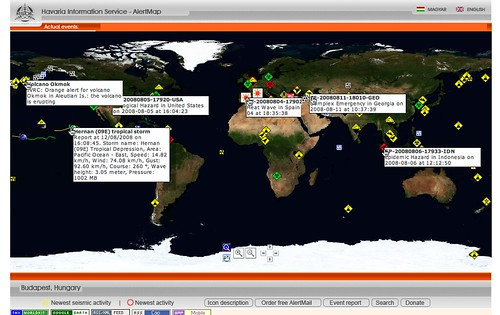 Disaster Map, 2