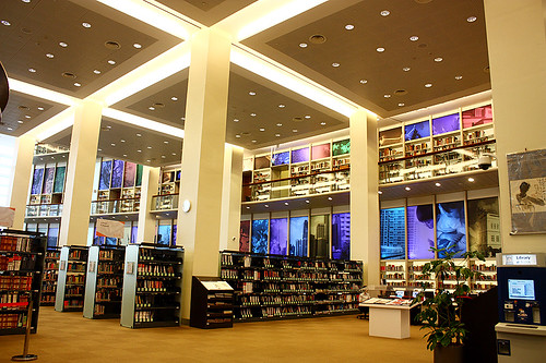 Eleventh Floor of the Singapore National Library