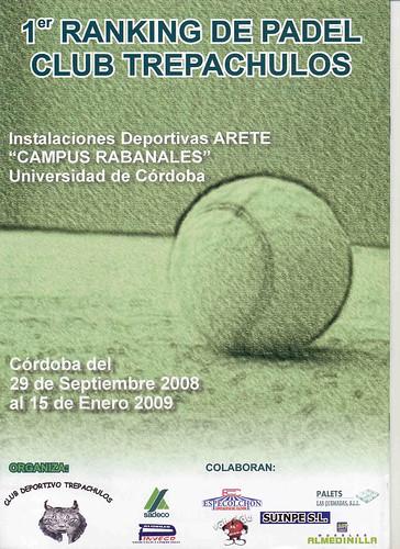 Contraportada de la revista de la empresa Sadeco dedicada al Club Trepachulos