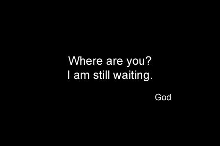 God Series 32 - God Waiting