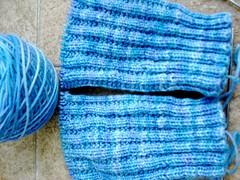 Smooshy Garter Rib Socks