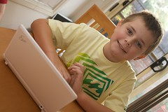 Alek and his eeePC