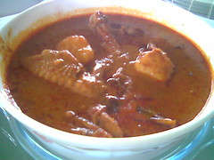 Mrs STP's chicken curry
