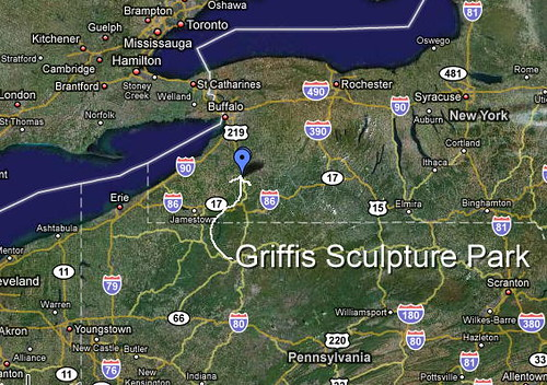 Griffis Map