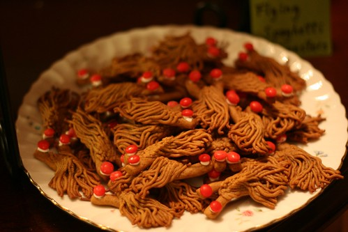 Gingerbread flying spaghetti monsters