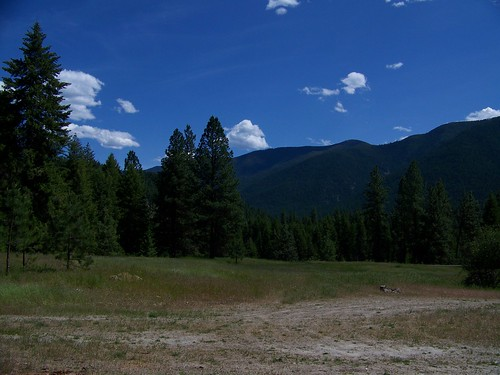 Bottom trailhead for trail 205