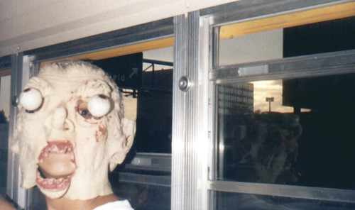 1989-1990 - Thomas Jefferson - bus ride - mask - 0434