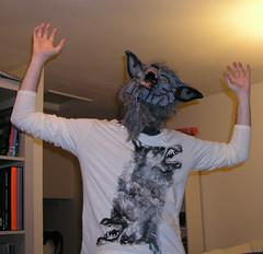 I am wolfman, hear me roar: Paul in mid-transformation