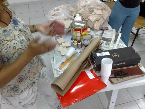 Oficina de fabricação de brinquedos