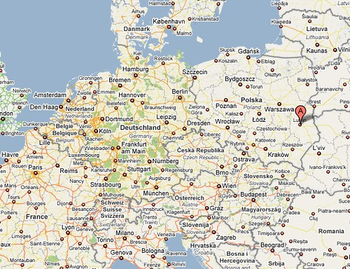 Map Lublin