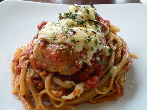 Meatball & Cheese Pasta