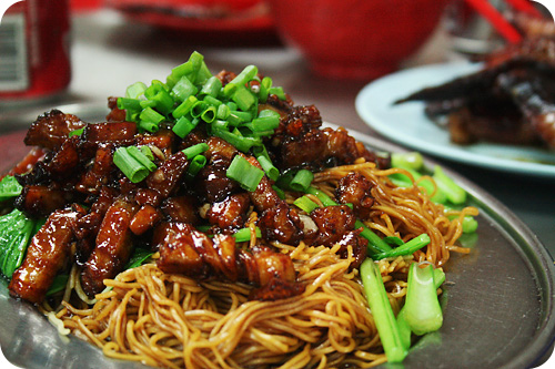 roast pork noodle