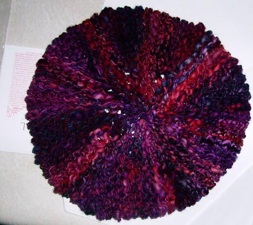 Urchin Beret pre-blocking